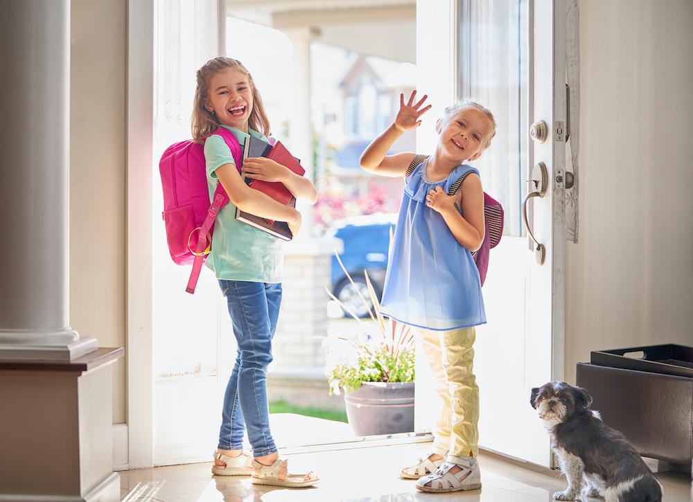 Smart Video Doorbell security tips_family